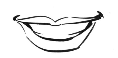Mouth Illustration Drawing a Simple Mouth Illustration